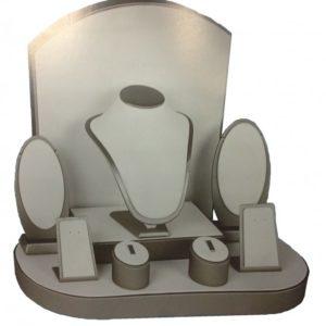 Vetrina Silver con Accessori