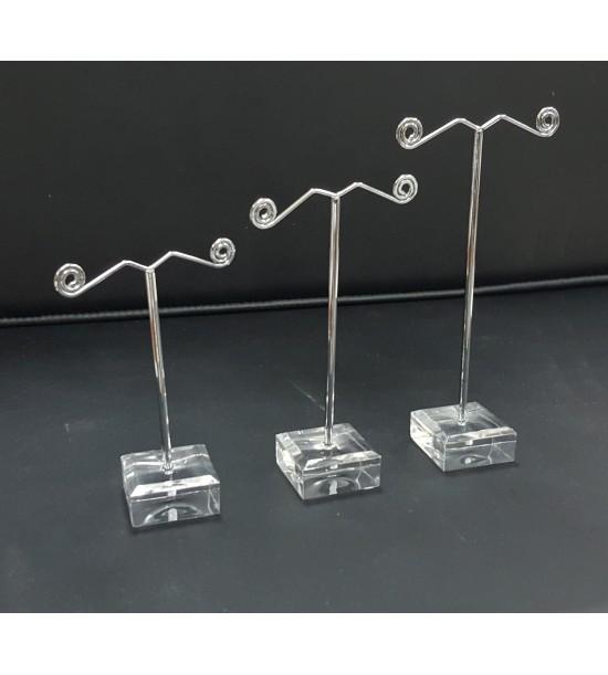 Espositore Orcchini Kit 3Pz  PVC+Metallo