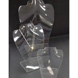 Colli Trasparenti Kit 3pz in PVC