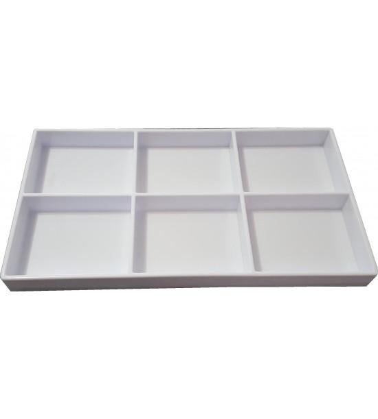 Covette Termoformato Bianco P6