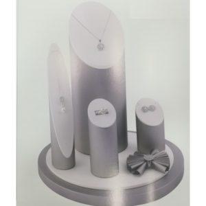 Vetrina Cilindro Silver